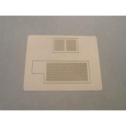 Akcesoria - 4TP - siatka wycinana laserem