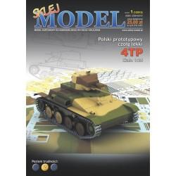 NR 01 - Polski czołg lekki 4TP