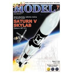 NR 07 - Amerykańska rakieta SATURN - SKYLAB