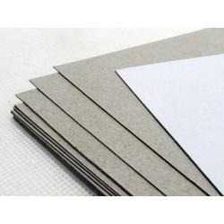 Karton 0,5 mm biało-szary